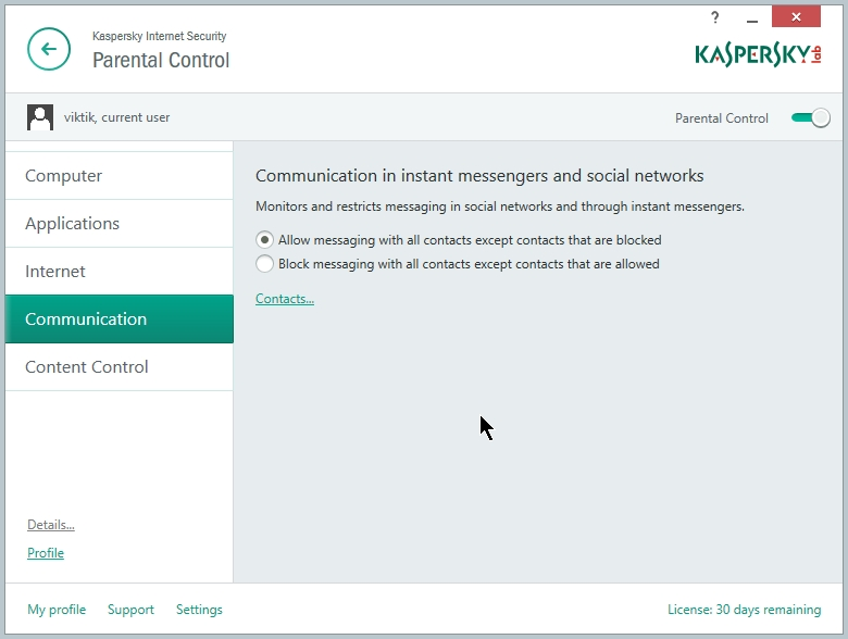 Mobile Security 9 Kaspersky