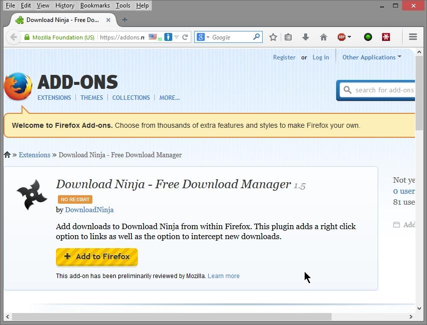 Download Manager Cyber Raiden