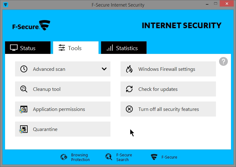 F Secure Internet Security 2015 – Review + settings ...