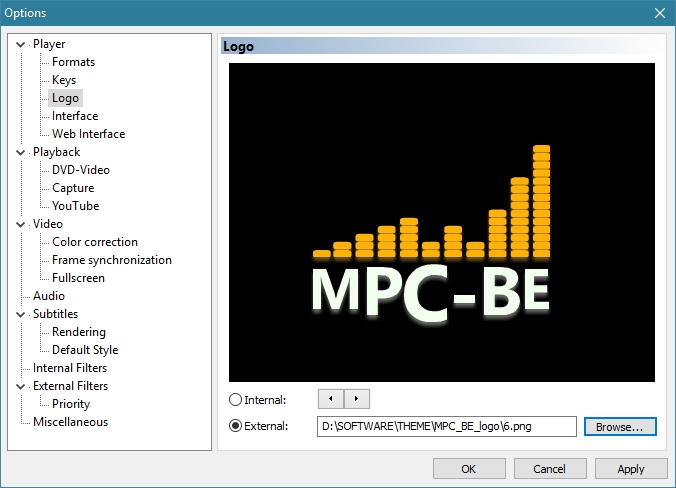 MEDIA PLAYER CLASSIC BLACK EDITION RECOMMENDED SETTINGS_30-05-2016_16-09-08