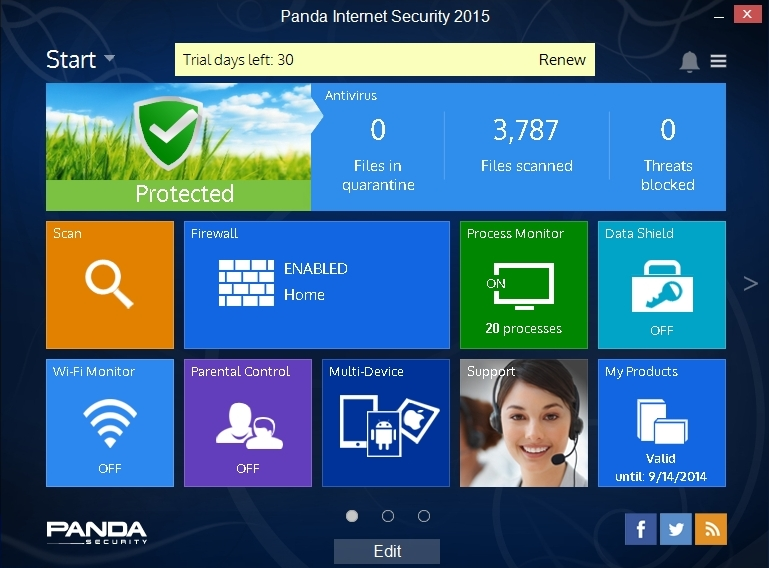 PANDA INTERNET SECURITY 2015 INTERFACE_001_15082014_172358