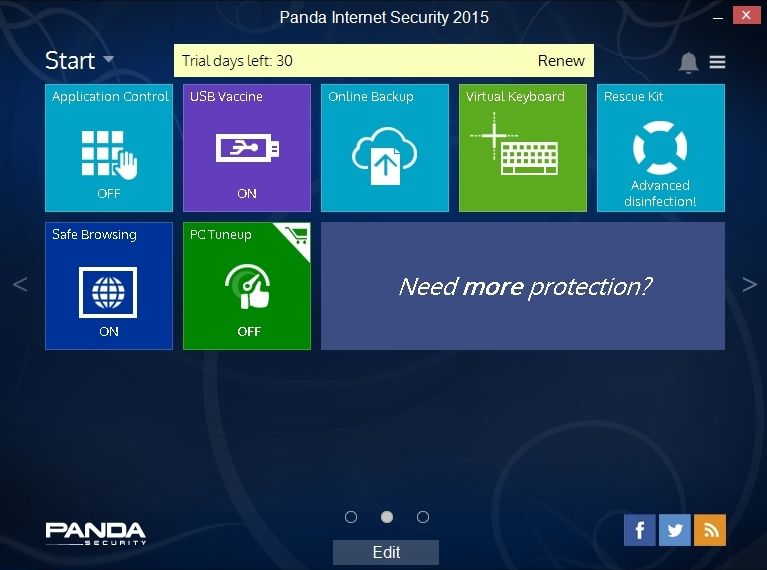 PANDA INTERNET SECURITY 2015 INTERFACE_002_15082014_172424