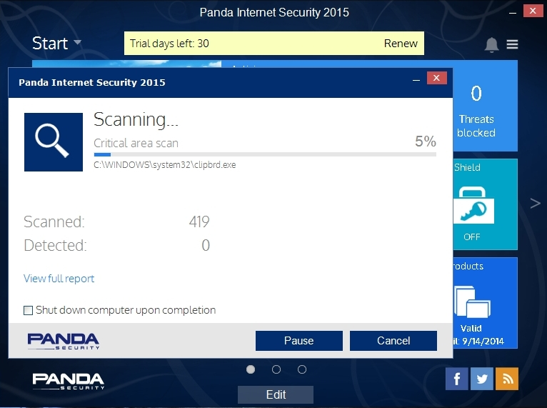 PANDA INTERNET SECURITY 2015 INTERFACE_004_15082014_172538