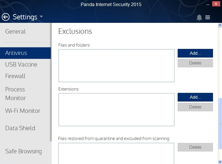 PANDA INTERNET SECURITY 2015 SETTINGS_013_15082014_175222