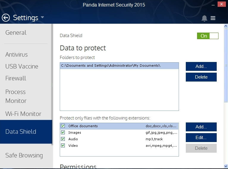 PANDA INTERNET SECURITY 2015 SETTINGS_020_15082014_175341