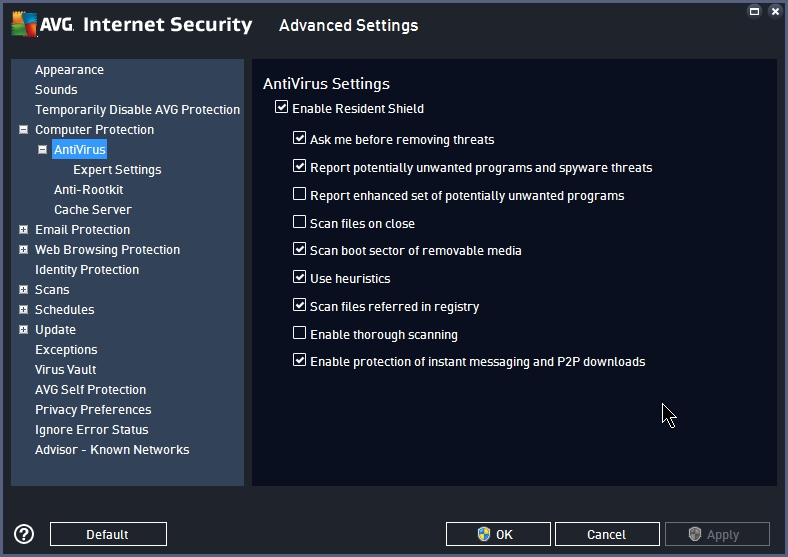AVG INTERNET SECURITY 2015 SETTINGS_17092014_233359