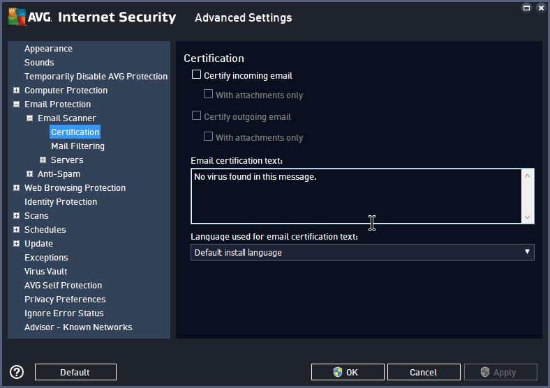 AVG INTERNET SECURITY 2015 SETTINGS_17092014_233420
