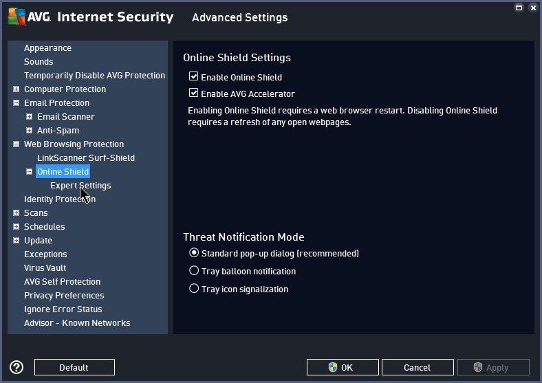 AVG INTERNET SECURITY 2015 SETTINGS_17092014_233508