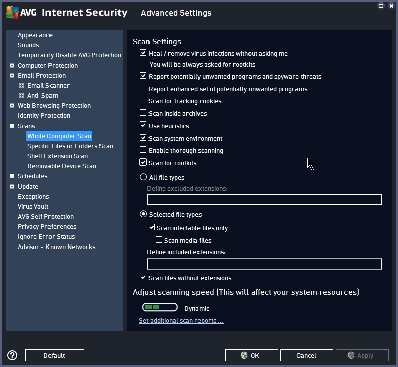 AVG INTERNET SECURITY 2015 SETTINGS_17092014_233527