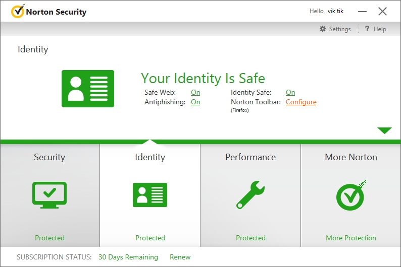 NORTON INTERNET SECURITY 2015 INTERFACE_23092014_014504