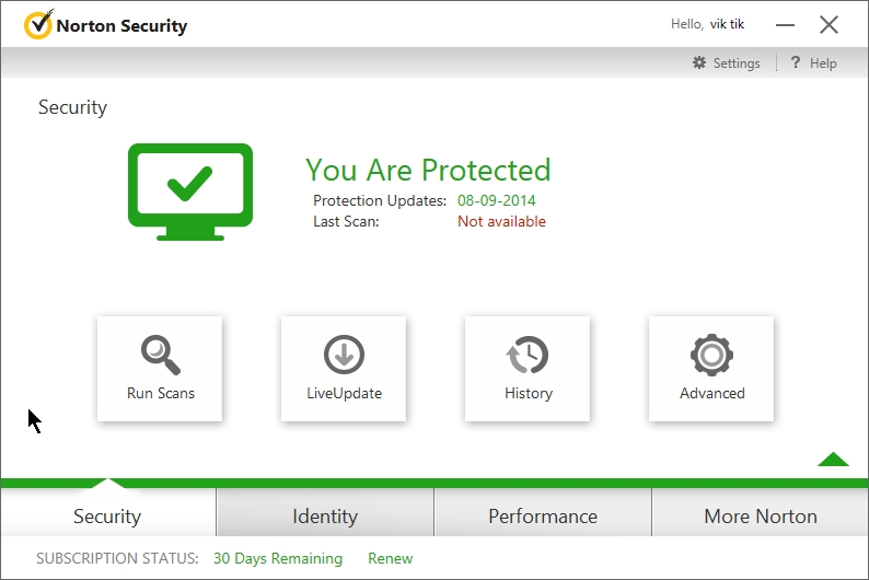 NORTON INTERNET SECURITY 2015 INTERFACE_23092014_014519