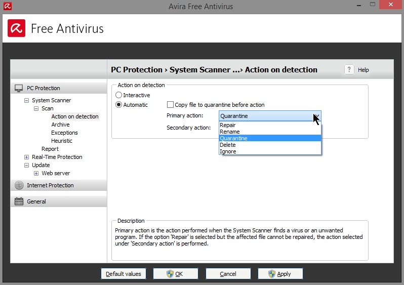 AVIRA FREE ANTIVIRUS 2015 SETTINGS_19102014_080737