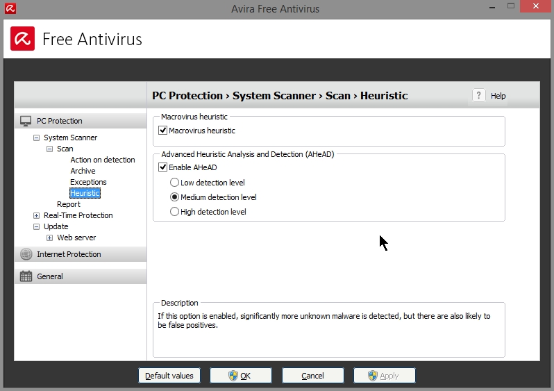 AVIRA FREE ANTIVIRUS 2015 SETTINGS_19102014_080759