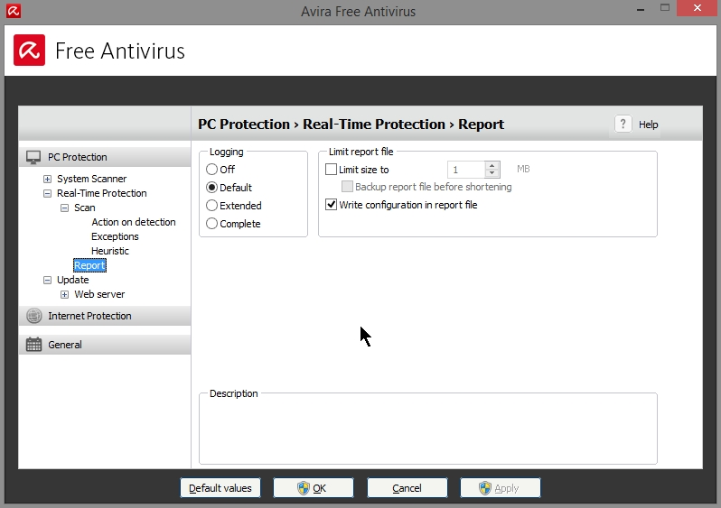 AVIRA FREE ANTIVIRUS 2015 SETTINGS_19102014_080834