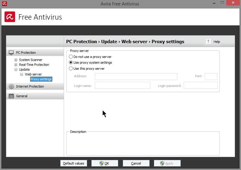 AVIRA FREE ANTIVIRUS 2015 SETTINGS_19102014_080845