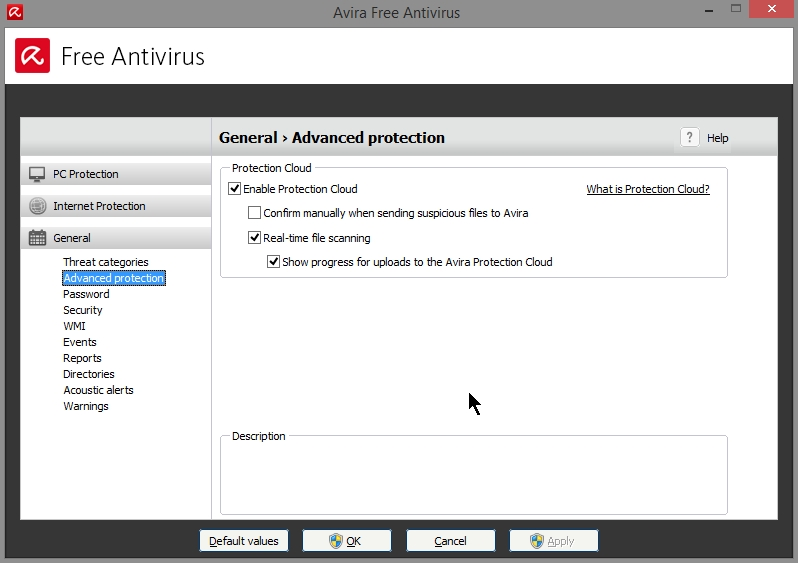 AVIRA FREE ANTIVIRUS 2015 SETTINGS_19102014_080934