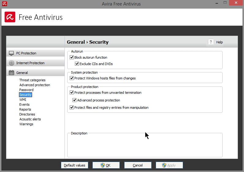 AVIRA FREE ANTIVIRUS 2015 SETTINGS_19102014_080943