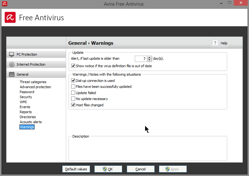 AVIRA FREE ANTIVIRUS 2015 SETTINGS_19102014_081005
