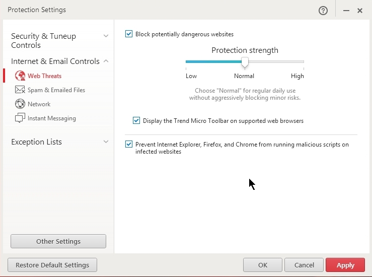 TREND MICRO TITANIUM INTERNET SECURITY 8 SETTINGS_31-08-2014_21-02-06