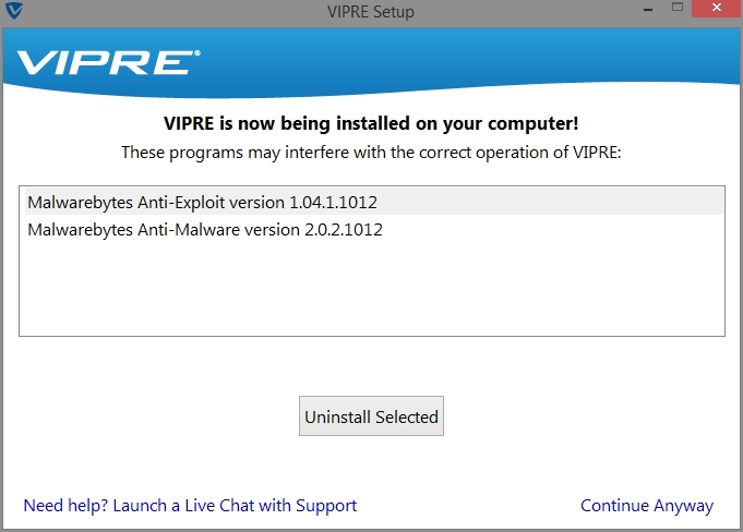 VIPRE INTERNET SECURITY 2015 INSTALL_08102014_224633