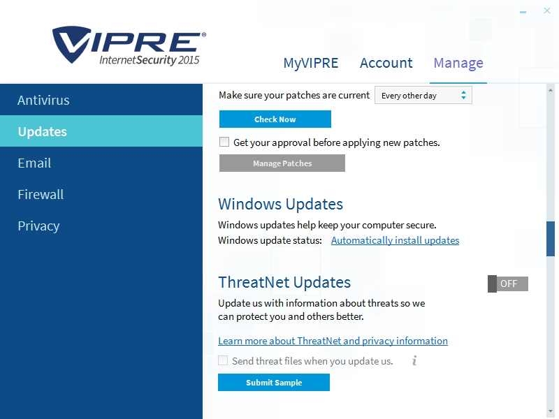 VIPRE INTERNET SECURITY 2015 SETTINGS_09102014_000028