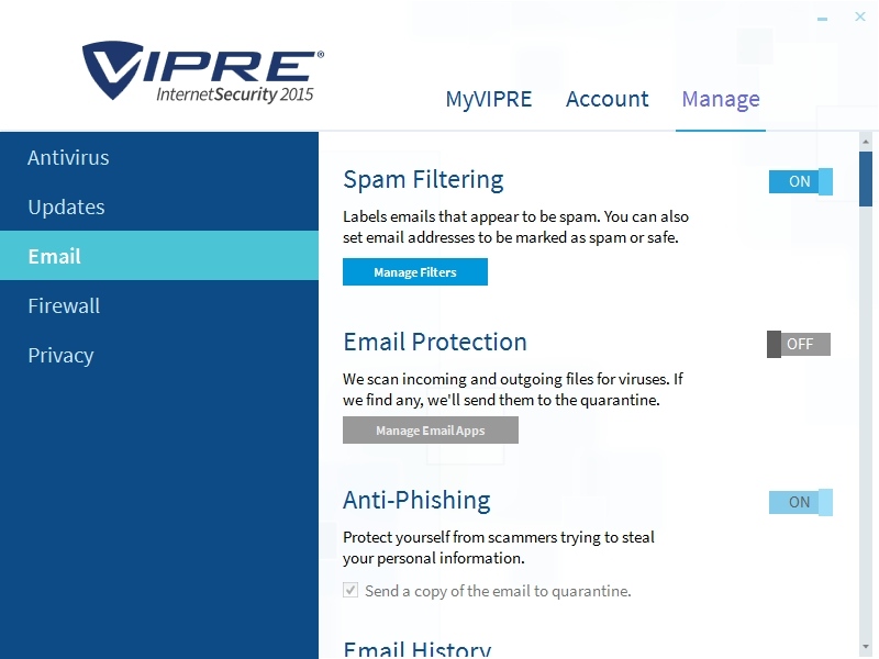VIPRE INTERNET SECURITY 2015 SETTINGS_09102014_000037