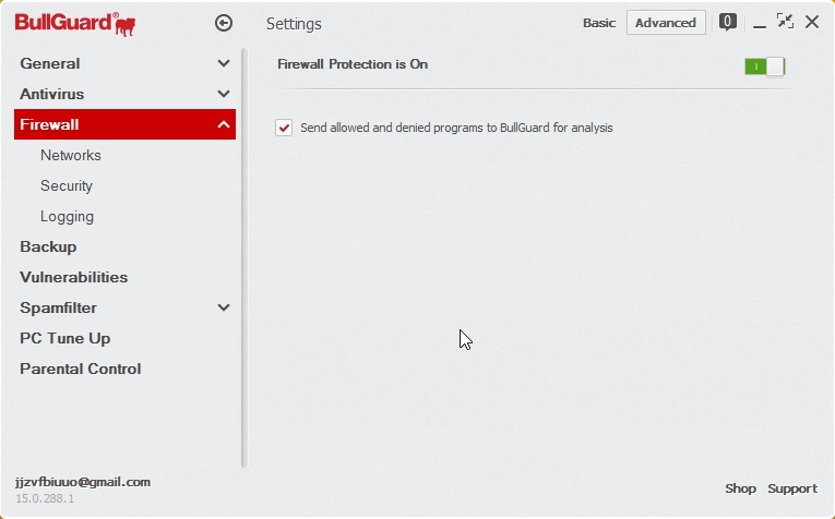 BULLGUARD INTERNET SECURITY 2015 SETTINGS_05112014_200908