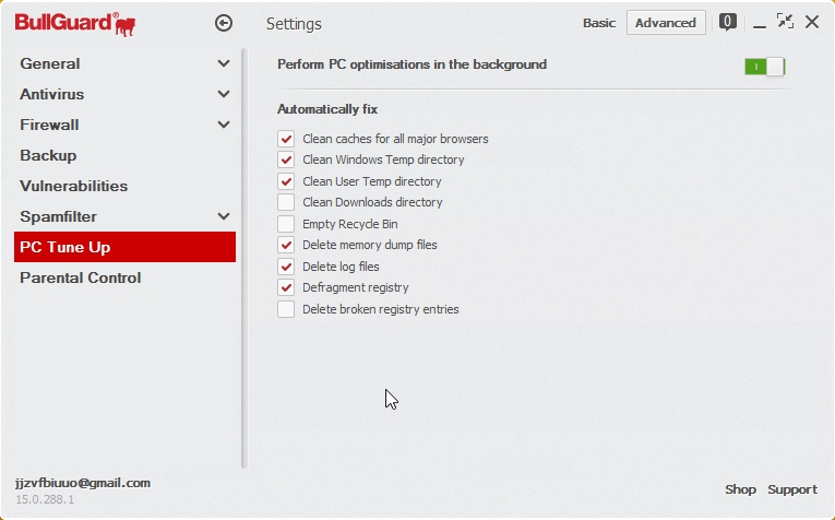 BULLGUARD INTERNET SECURITY 2015 SETTINGS_05112014_200932