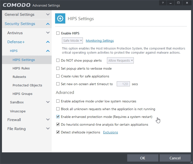 COMODO INTERNET SECURITY 8.2 ADVANCED SETTINGS_07-04-2015_17-27-14