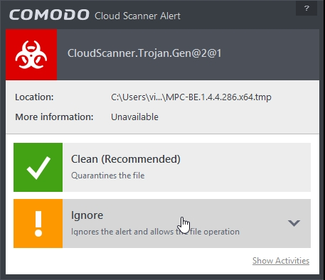 COMODO INTERNET SECURITY 8.2 CLOUD LOOKUP_07-04-2015_19-38-29