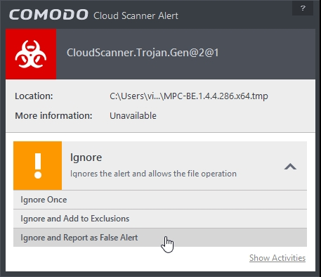 COMODO INTERNET SECURITY 8.2 CLOUD LOOKUP_07-04-2015_19-38-41
