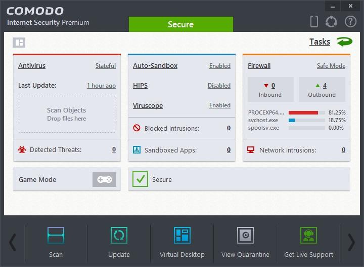 COMODO INTERNET SECURITY 8.2 INTERFACE_07-04-2015_19-20-08