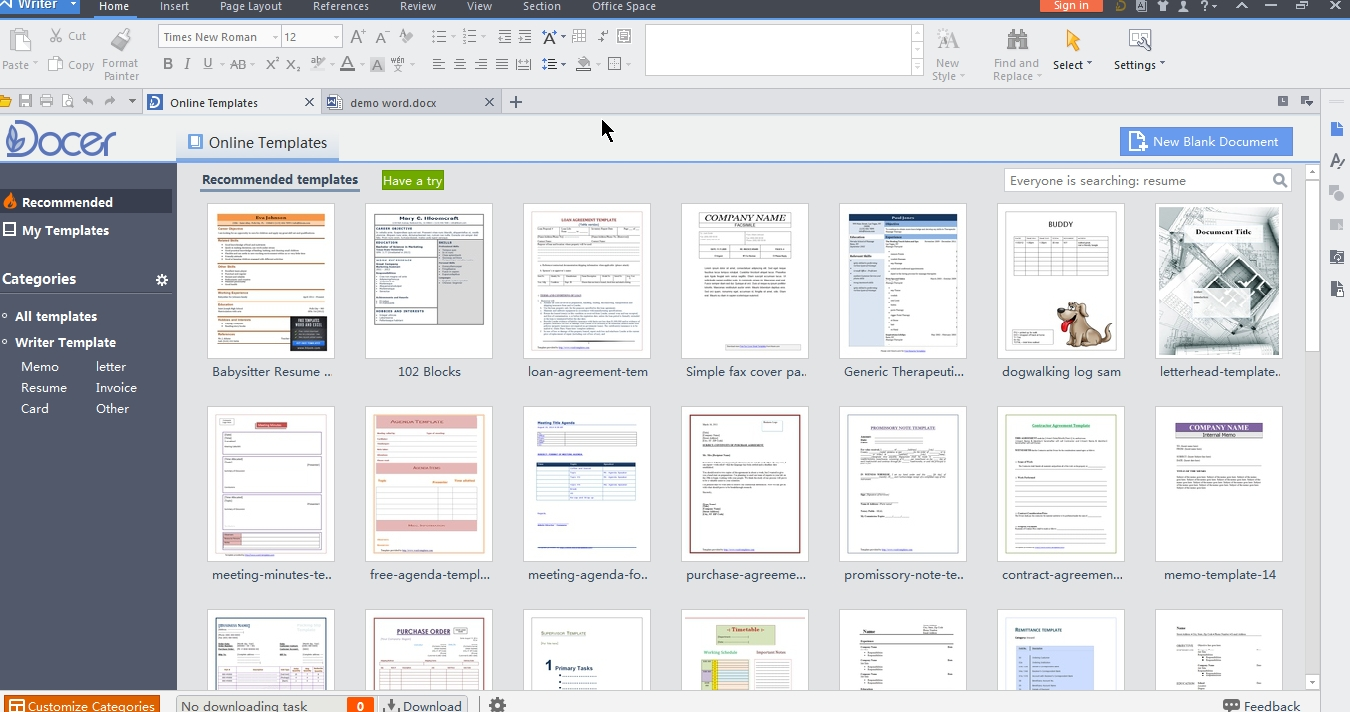Blog archives experiencebackuper - Office writer free download ...