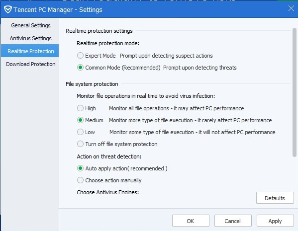 TENCENT PC MANAGER 11.4 SETTINGS_24042016_164232