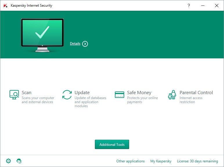 KASPERSKY INTERNET SECUIRTY 16 INTERFACE_06012016_131421