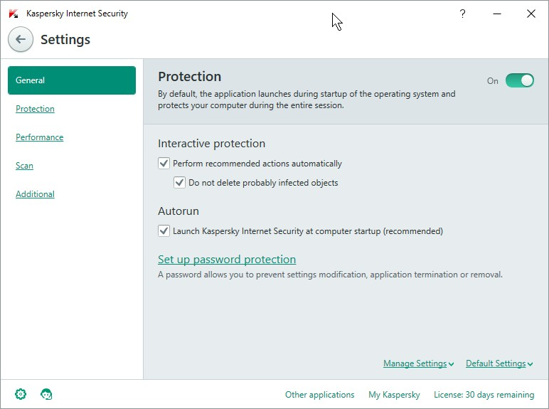 KASPERSKY INTERNET SECUIRTY 16 SETTINGS_06012016_134900