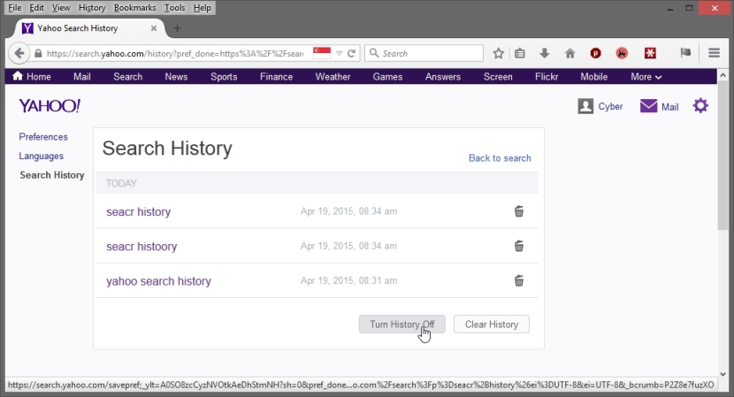 YAHOO ACCOUNT SECURITY  SCREENSHOT_19-04-2015_21-04-24