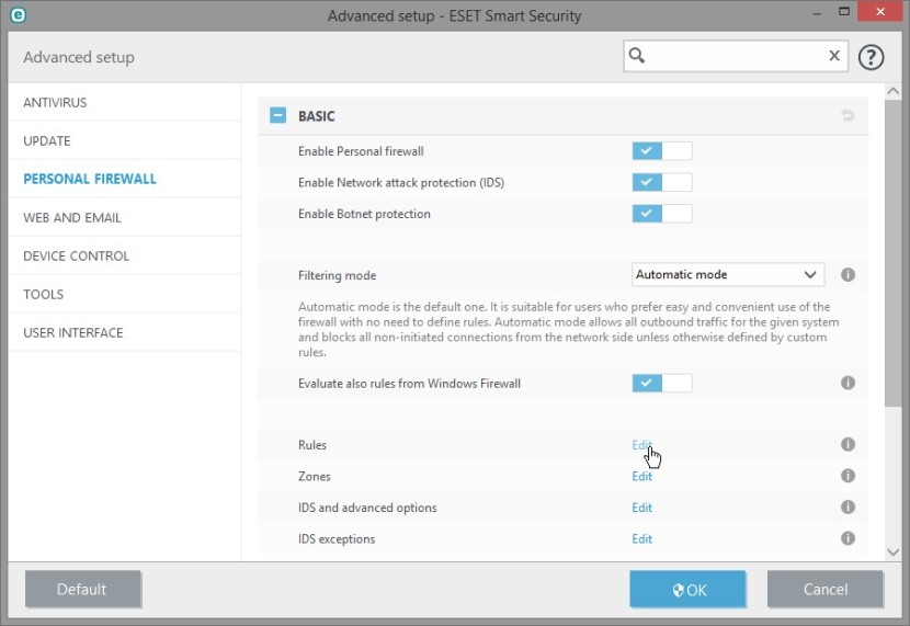 ESET SMART SECURITY 9 BLOCK APLLICATION INTERNET_12-01-2016_15-00-51