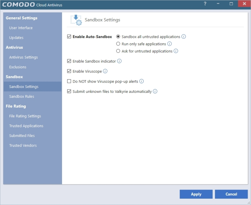 COMODO CLOUD ANTIVIRUS SETTINGS_30042016_203212