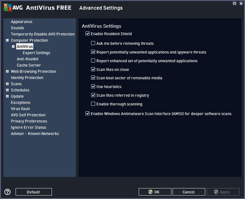 AVG FREE ANTIVIRUS 2016 RECOMMENDED SETTINGS_17-06-2016_20-16-22