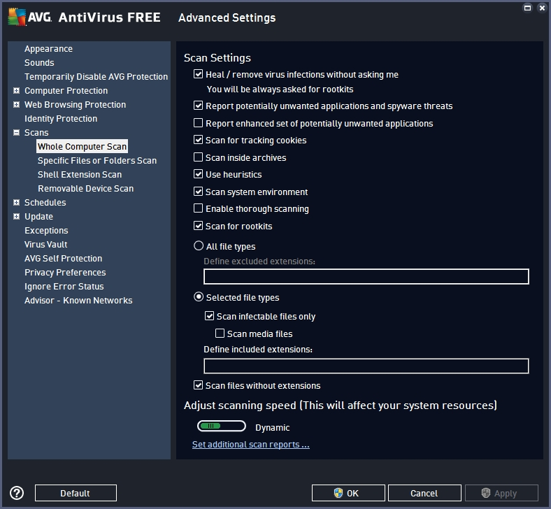 AVG FREE ANTIVIRUS 2016 RECOMMENDED SETTINGS_19-06-2016_11-38-22