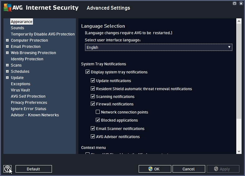 AVG INTERNET SECURITY 2016 ACCESSING HELP FILE_18-06-2016_19-51-21