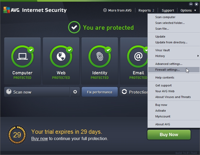 AVG INTERNET SECURITY 2016 BLOCK INTERNET ACCESS TO AN APPLICATION_18-06-2016_20-25-03
