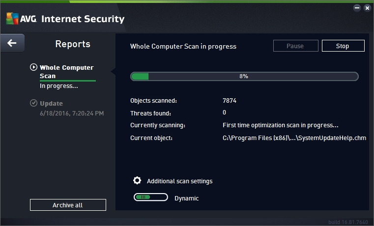 AVG INTERNET SECURITY 2016 FIRST TIME SCAN_18-06-2016_19-41-51