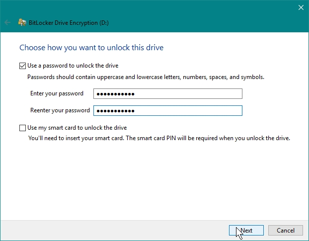 ENCRYPT PARTITIONS WITH BITLOCKER_30-07-2016_20-40-36