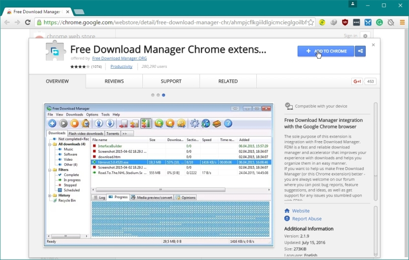FREE DOWNLOAD MANAGER 5 WEB BROWSER EXTENSION_16-07-2016_07-08-13