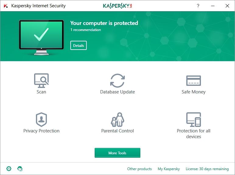 Kaspersky antivirusinternet security 2017 v 9.0.0.736 final