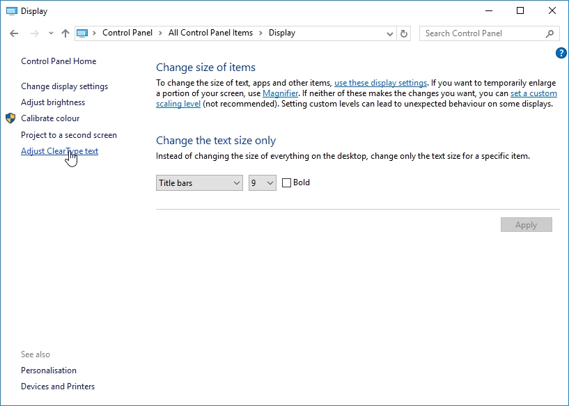 WINDOWS 10 1607 RECOMMENDED SETTINGS CONTROL PANEL_04082016_071756