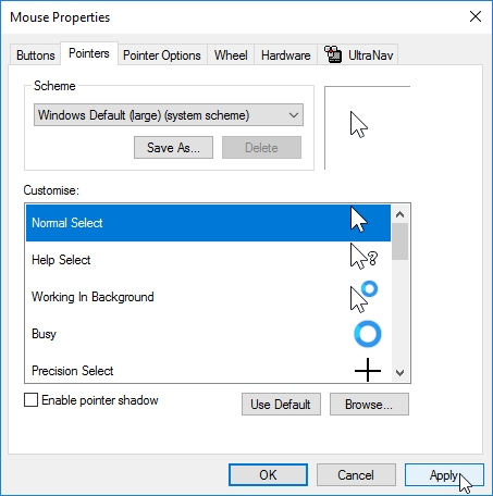 WINDOWS 10 1607 RECOMMENDED SETTINGS CONTROL PANEL_04082016_072656