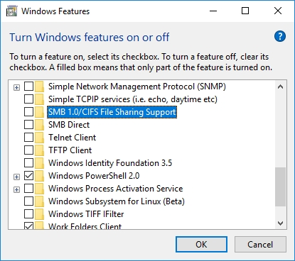 WINDOWS 10 1607 RECOMMENDED SETTINGS CONTROL PANEL_04082016_073119